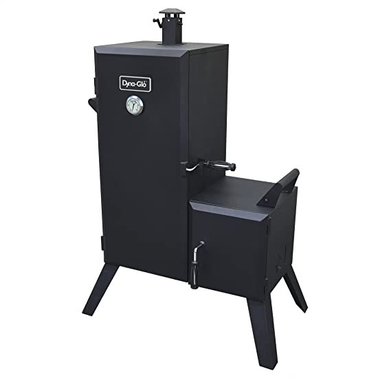 Dyna-Glo DGO1176BDC-D Vertical Offset Charcoal Smoker Review