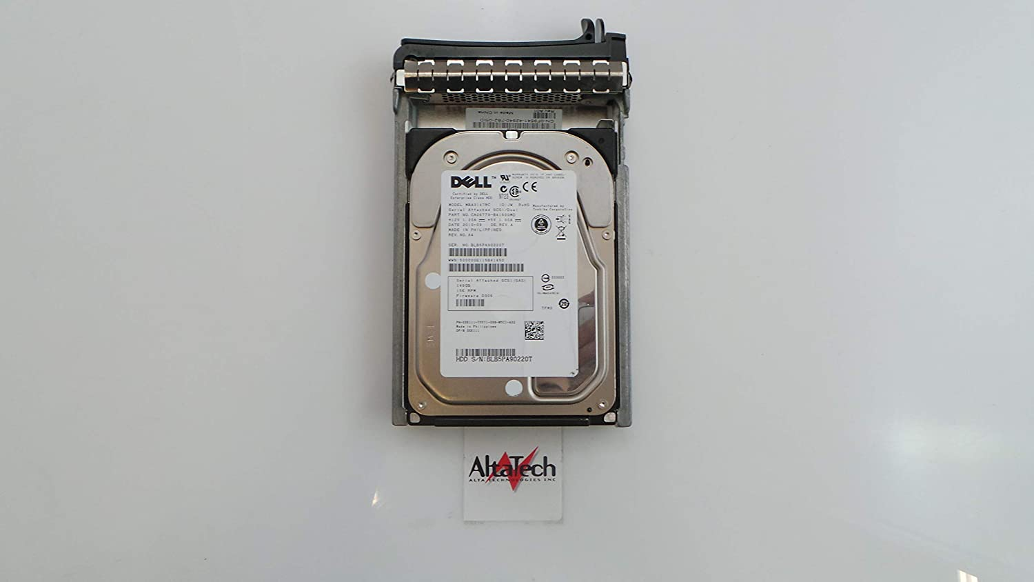 Dell OEM PowerEdge 2950 1950 Server XK111 146GB 15K SAS Hard Drive MBA3147RC