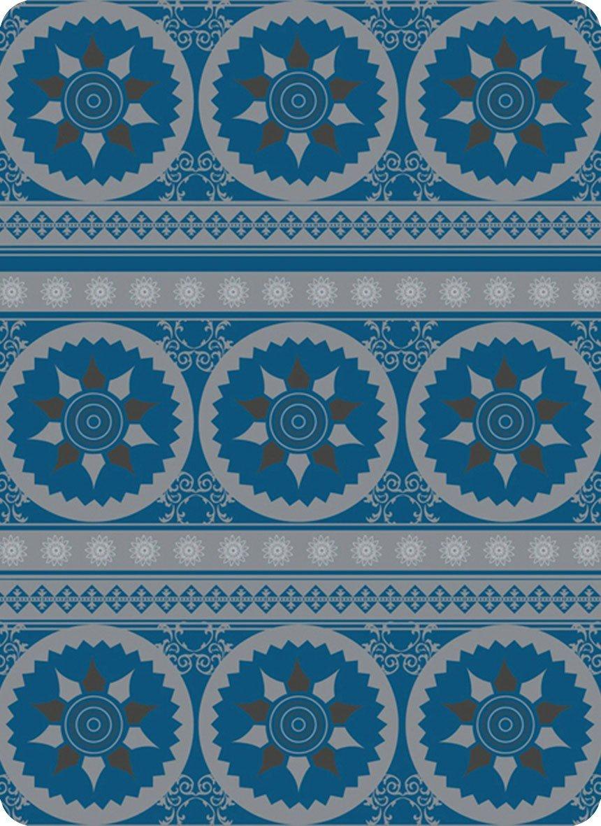 4 Fun Sport Star estándar bufanda, azul, talla única