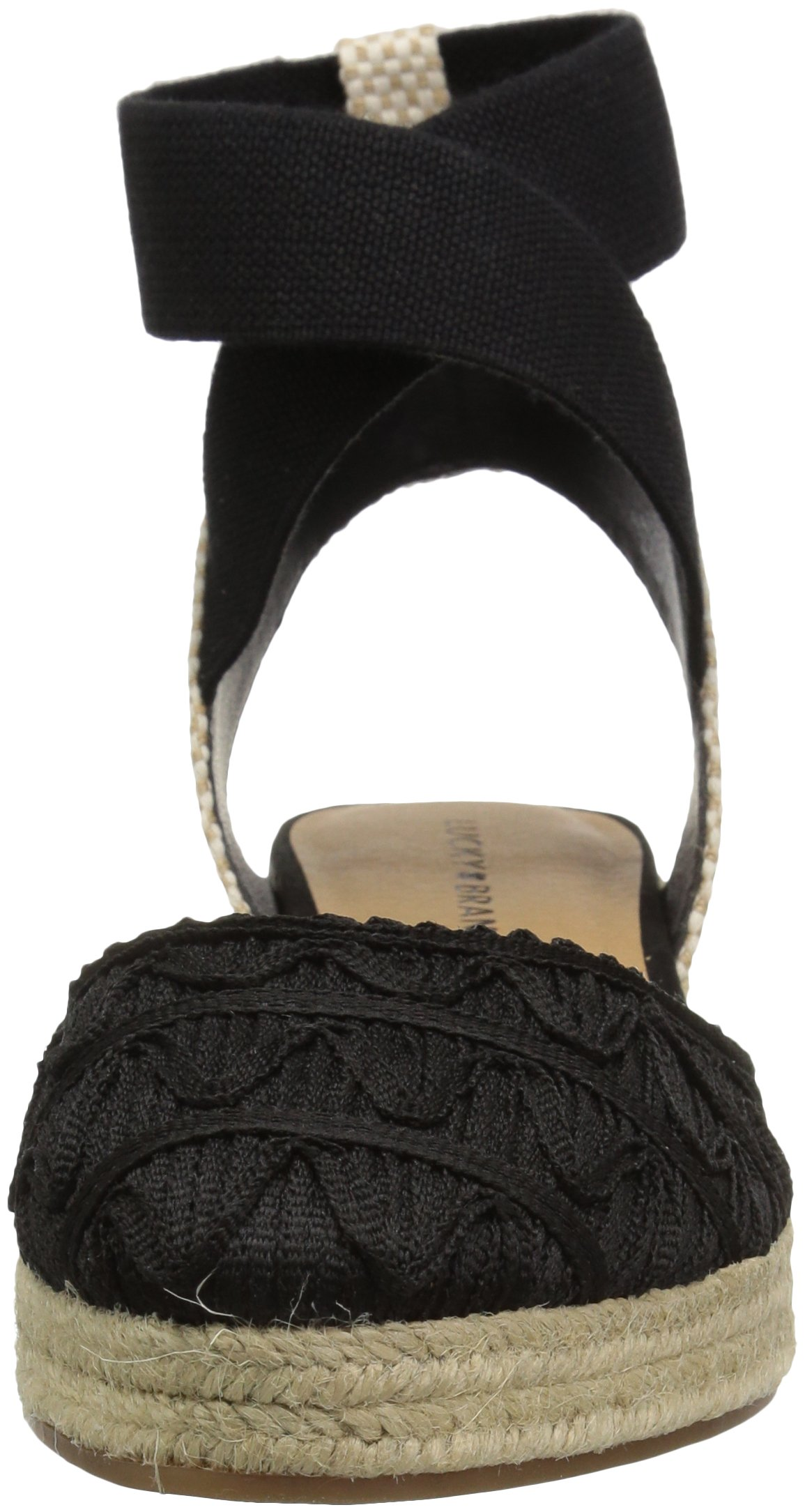 Lucky Brand Women's Luvinia Pump, Black, 7 M US by Lucky Brand (Image #4)