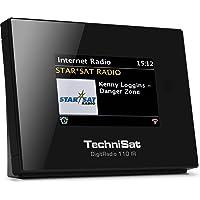TechniSat Digitradio 110 Internetradio Adapter / DAB+ Digitalradio Adapter (WLAN, Spotify Connect, Bluetooth, Fernbedienung, Wecker, optimal zur Aufrüstung bestehender HiFi-Anlagen) schwarz