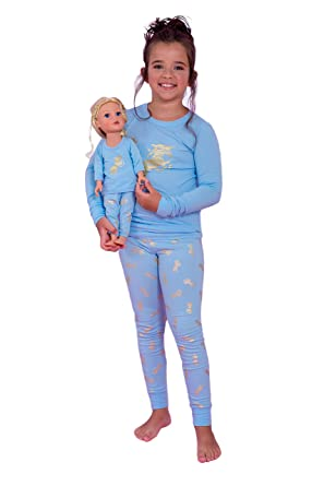 e188bba384 Matching Doll Girl Sleep Nightgown Unicorn Pyjama Sets Fits American Girl  Doll Girls Matching Doll Toddler