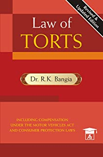 Law Of Torts With Consumer Protection Act, 1/e PB (English) price comparison at Flipkart, Amazon, Crossword, Uread, Bookadda, Landmark, Homeshop18