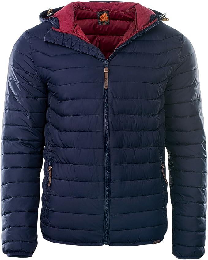 IGUANA Herren Jacke Steppjacke leicht und warm Perfekt