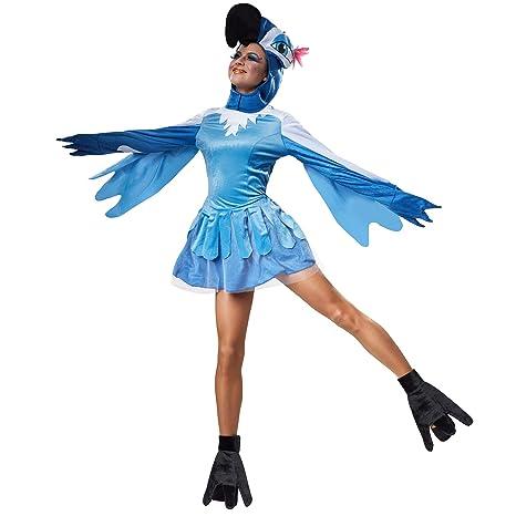 dressforfun 900540 - Disfraz de Mujer Bella Ave del Paraíso ...