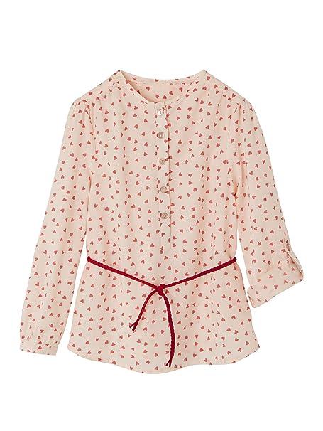 326642af9 VERTBAUDET Blusa Estampada para niña Rosa Claro Estampado 14A ...