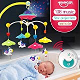Magicwand Baby Remote Controlled Musical And Rotating Projection Toy (0-12 Months)