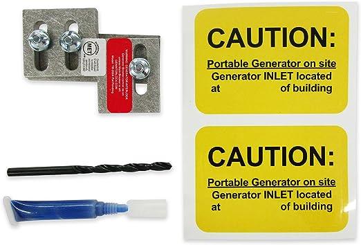 MUR-200A Murray Siemens Generator interlock kit 150 or 200 Amp Panel LISTED