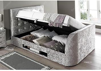 Groovy Inspiration Beds Kaydian Barnard Tv Bed 5Ft 150Cm X 200Cm Andrewgaddart Wooden Chair Designs For Living Room Andrewgaddartcom