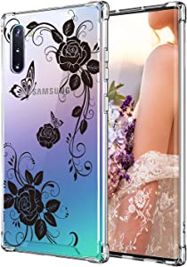 Case for Galaxy Note 10,Cutebe Shockproof Series Hard PC+ TPU Bumper Protective Case for Samsung Galaxy Note 10 2019 Release Black