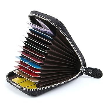 Credit Card Holders Women Ladies Leather Credit Card Wallets for Women  Credit Card Holder Women RFID 94ecae174b