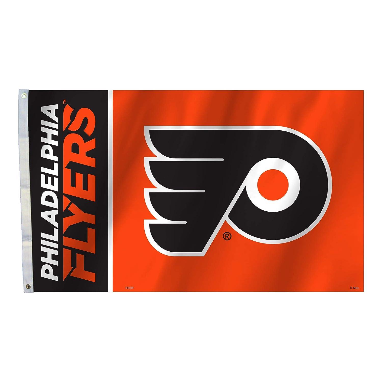 Fremont Die 84205B 3 pies x 5 pies Philadelphia Flyers de la bandera con Grommetts