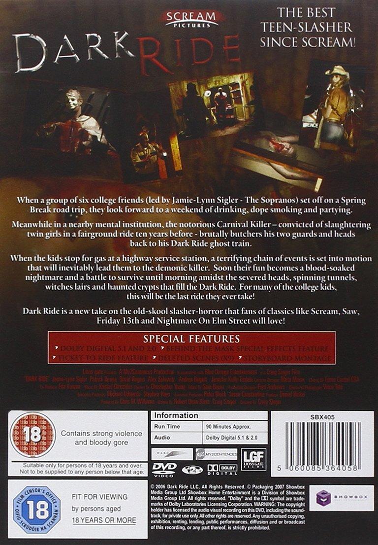 Amazon.com: Dark Ride [Import anglais]: Movies & TV