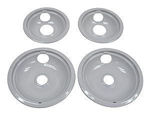Whirlpool W10291024 Drip Pan Kit, Grey