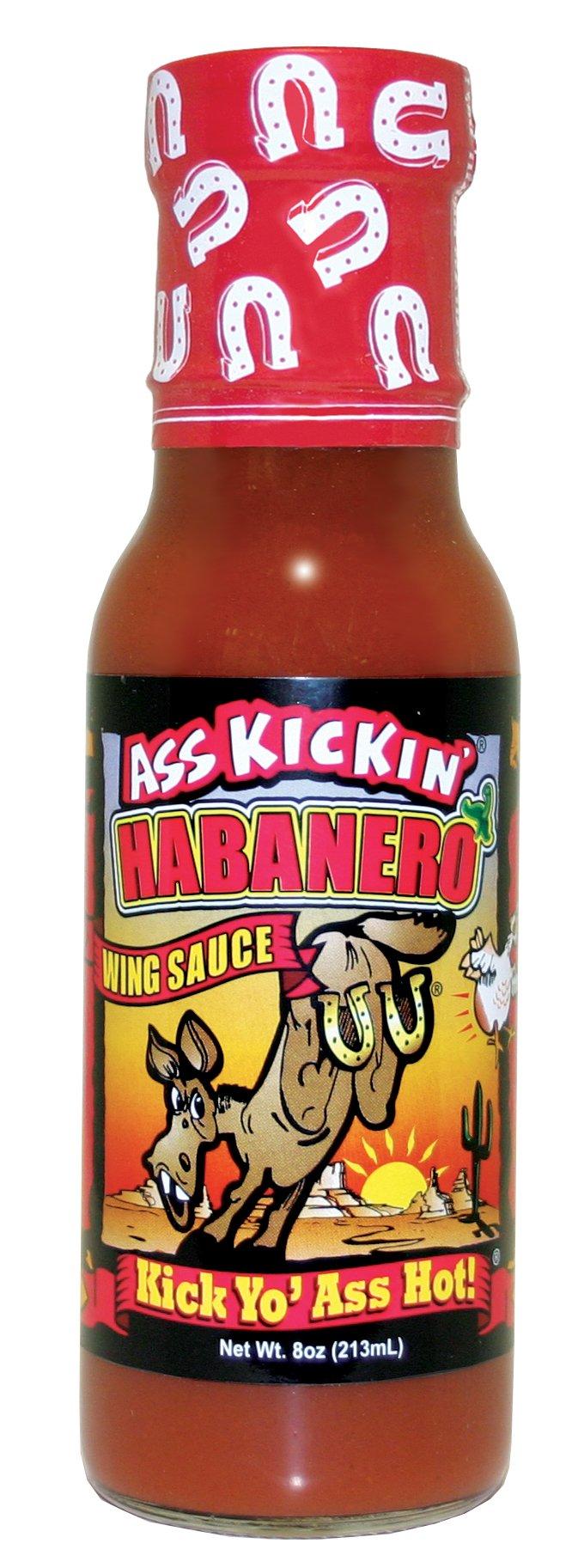Ass Kickin' Habanero Wing Sauce