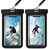 JOTO Universal Waterproof Pouch, IPX8 Waterproof Cellphone Dry Bag Underwater Case for iPhone 11 Pro Max Xs Max XR X 8 7…