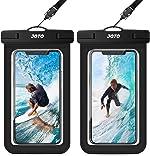 JOTO Universal Waterproof Pouch, IPX8 Waterproof Cellphone Dry Bag Underwater Case