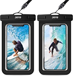 JOTO Universal Waterproof Pouch, IPX8 Waterproof Cellphone Dry Bag Underwater Case for iPhone 12 Pro Max 11 Pro Max Xs Max XR X 8 7 6S, Galaxy S20 Ultra S10 Note10 9 up to 6.9