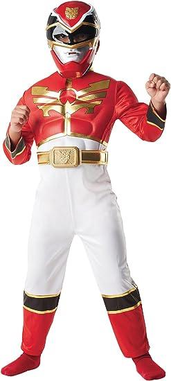 Power Rangers I-886668 - Disfraz de Power Ranger, color rojo ...