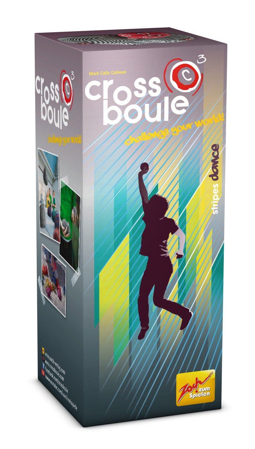 Zoch 601105029 - Crossboule c³ Single Set - Stripes Dance