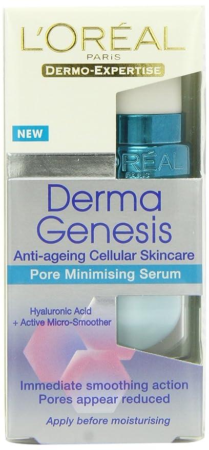 5 opinioni per L'Oreal Derma Genesis- Siero per pori dilatati, 15 ml