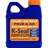 K-SEAL Coolant Leak Repair, ST5501 8oz, Multi-Purpose Formula Stops Leaks in the Radiator, Head Gasket, Block, Water…