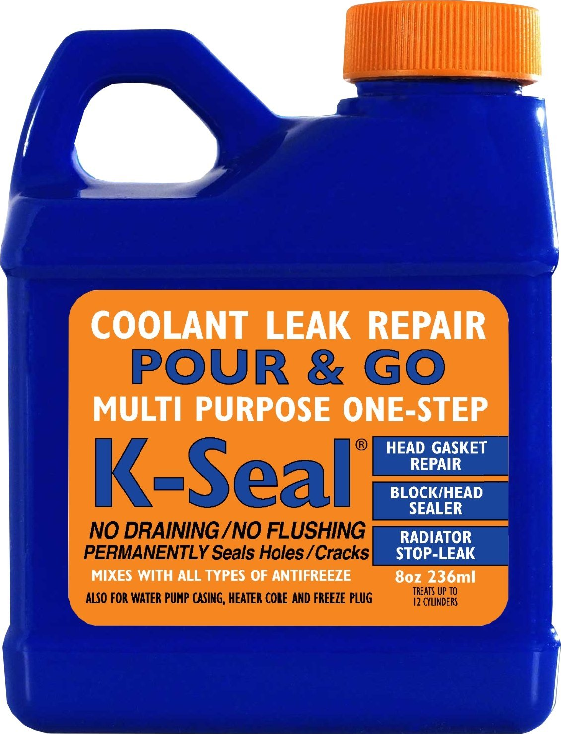 Amazon.com: K-Seal ST5501 Multi Purpose One Step Permanent Coolant Leak  Repair: Automotive