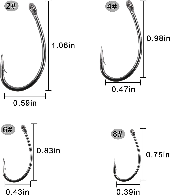 Kamatsu k-807 Koi Bari//Carp Hooks with Eye boiliehaken Hook Loose Carp Hooks