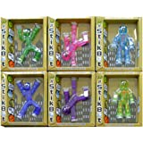 by Zing Stikbot Figure (lot de 6, les couleurs peuvent varier)