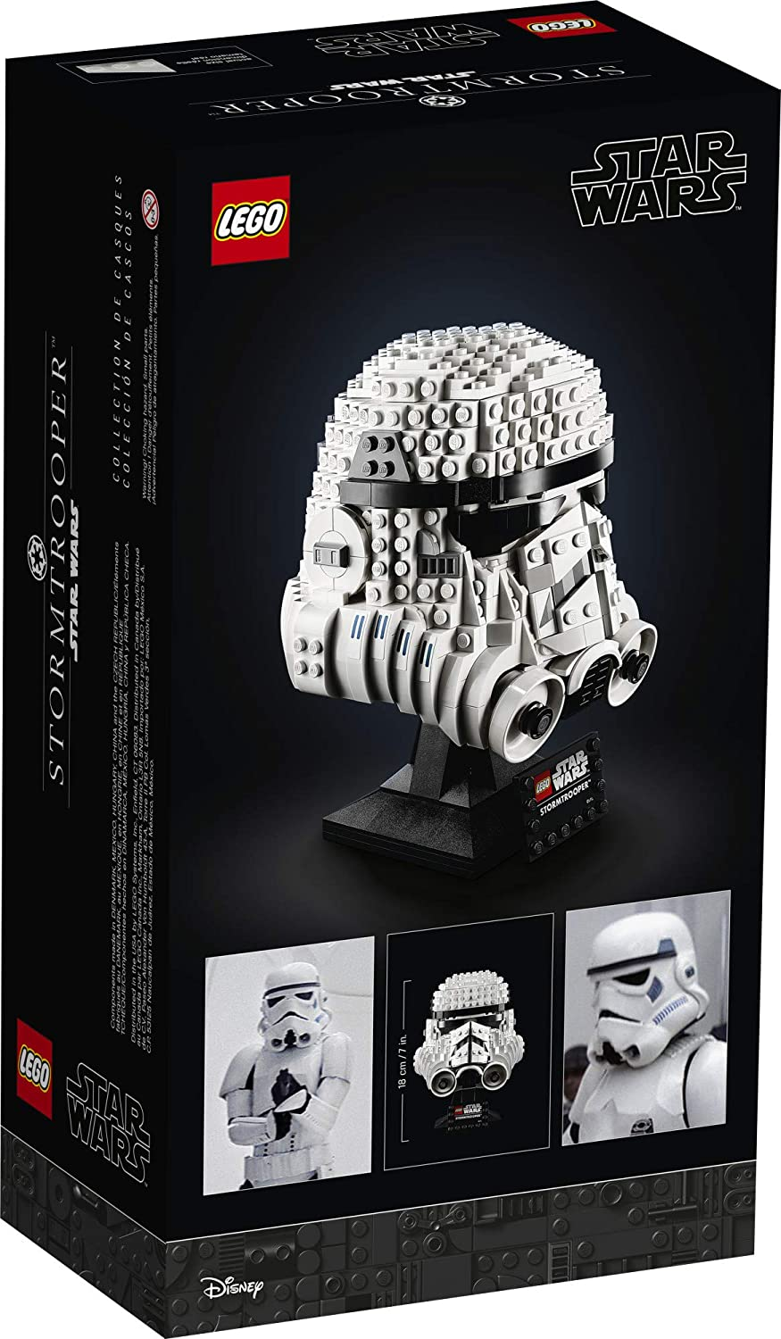 LEGO Star Wars Stormtrooper Helmet 75276 Building Kit, Cool Star Wars Collectible for Adults, New 2020 (647 Pieces)