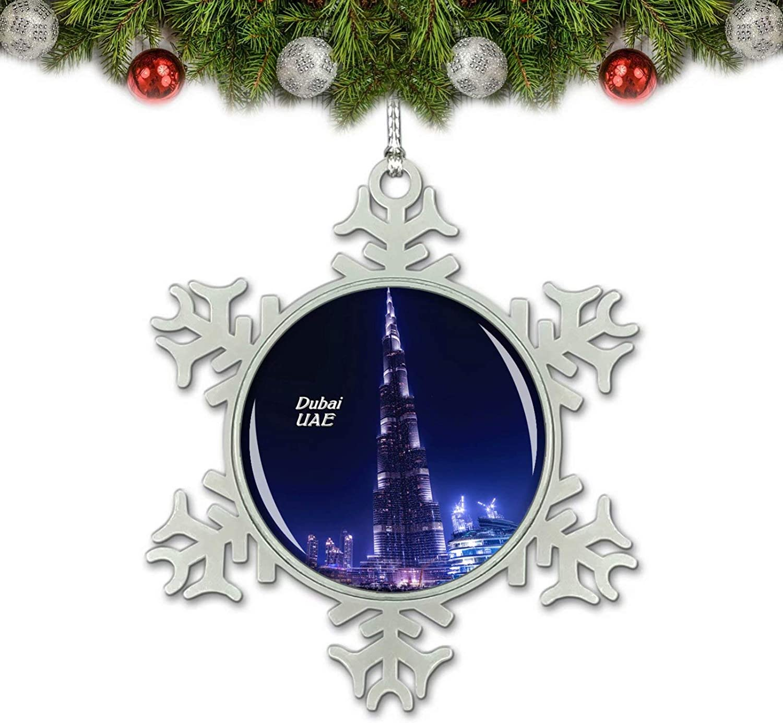 Fountain Of Life Christmas Play 2021 Amazon Com Uae The Dubai Fountain Burj Khalifa Dubai Christmas Ornament Tree Decoration Crystal Metal Souvenir Gift Home Kitchen