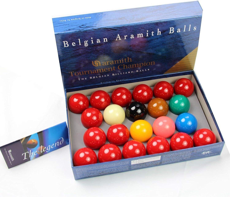 Aramith Tournament- Juego de bolas de snooker (22 bolas, 5,2 cm): Amazon.es: Deportes y aire libre