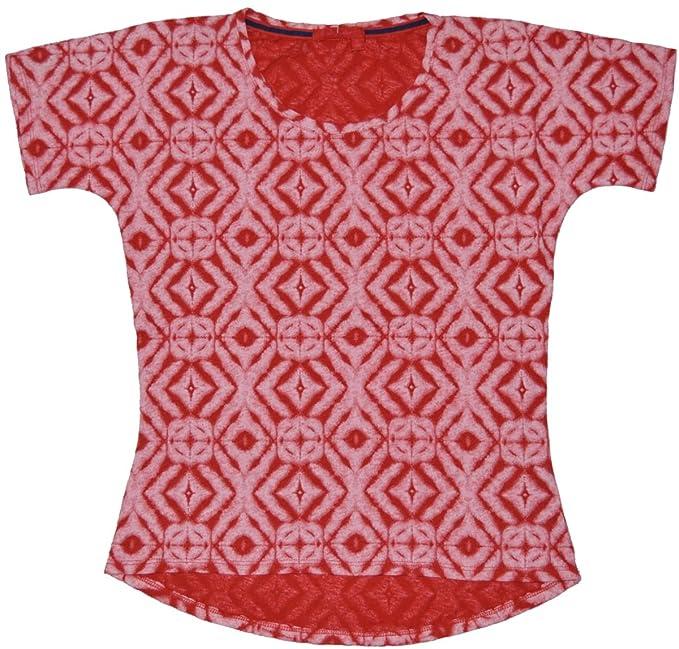 d0f2c37f756d Fresh Produce Womens Shibori Hannah Short Sleeve Tee T-Shirt Beach Cruise  Resort Wear Hemp