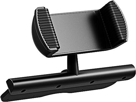 Mpow Support de téléphone universel pour voiture, fixation fente CD de lautoradio, avec rotation à 360°, pour iPhone 7, 6, 6S, 5, 5S, iPod Touch, ...