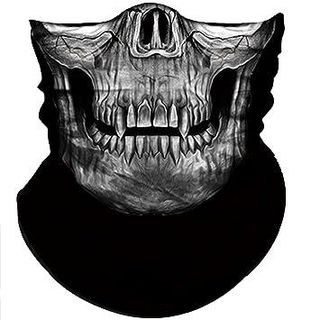 Amazon.com: Obacle - Máscara de calavera, protección contra ...