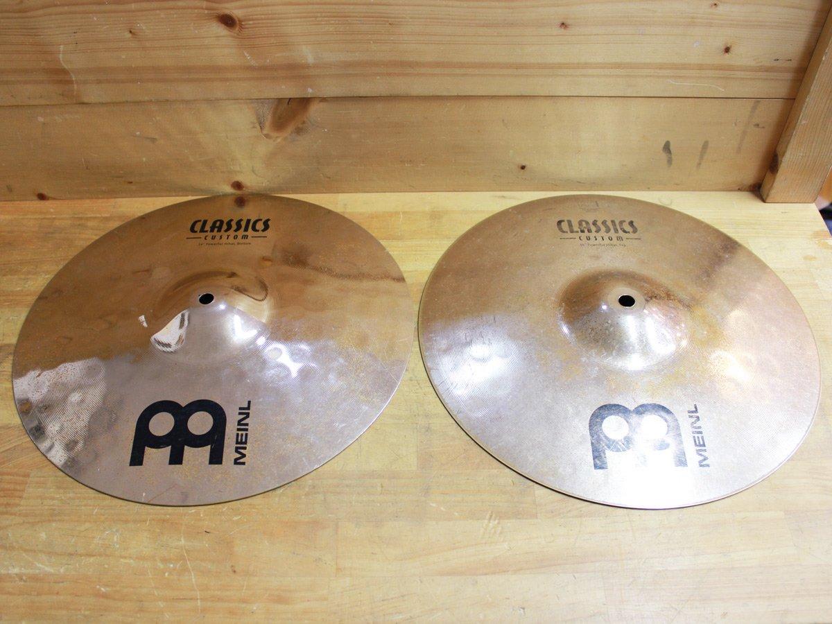 """【中古】MEINL Classics Custom CC14PH-B 14"""" ペア B07FKYVS8N"""