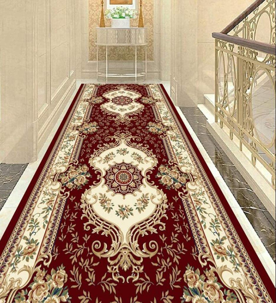 Size : 0.96m Full Shop Can Be Customized AO Carpet Corridor Carpet Stair Mat Company Hotel Commercial Household Non-Slip Mat