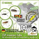 ISOTRONIC piège à insectes à grillonsPièges Anti-Cafards Piège à poisson argent