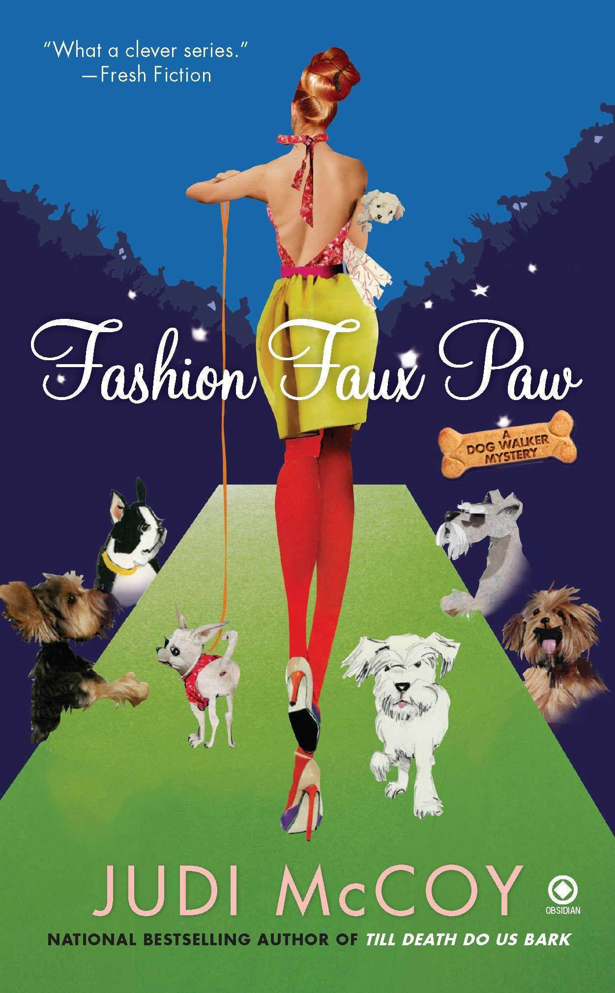 Amazon com: Fashion Faux Paw: A Dog Walker Mystery