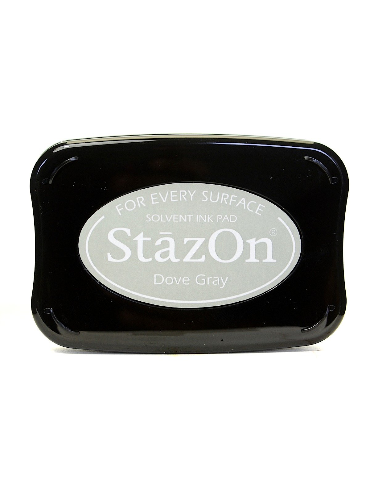 Tsukineko StazOn Solvent Ink dove gray 3.75 in. x 2.625 in. full-size pad [PACK OF 2 ]