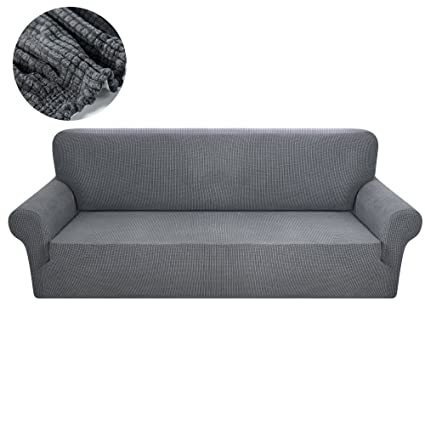 fanatical purchase fp sofa covers 3 cushion couch grey polyester