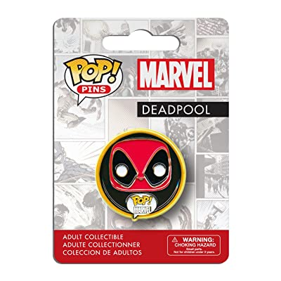 Funko Pop Pins: Marvel Deadpool Action Figure: Funko Pop! Pins:: Toys & Games