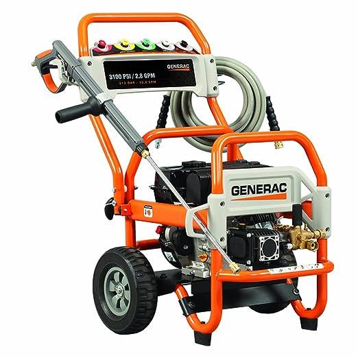Generac 5993 3.100 PSI 2.8 gpm 212 CC OHV Funciona con Gas presión ...