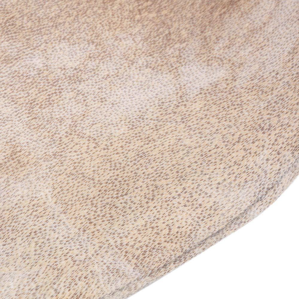 Yellow 30x30x0.1cm Goat Skin Head 8 Inches African Tamborine Drum Head