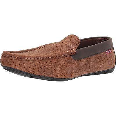 Levi's Shoes Royce Perfed Waxed UL NB Tan/Brown 9.5   Fashion Sneakers