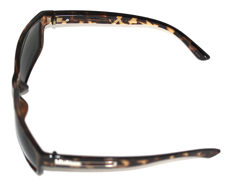 Perry Ellis Sunglass, Mens Rectangle PE42 Tortoise, Plastic Sunglass ...
