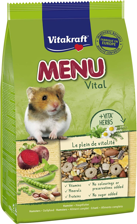 Vitakraft Menu - Alimentación Completa para hámster (800 g ...
