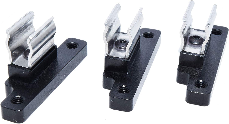 Billet Soft Top Clips Spring Steel Black, Set of 3 For Geo Tracker//Suzuki Sidekick