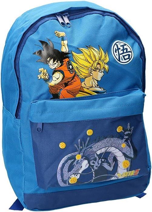 Mochila niña DRAGON BALL bolsa de ocio escolar azul VZ93