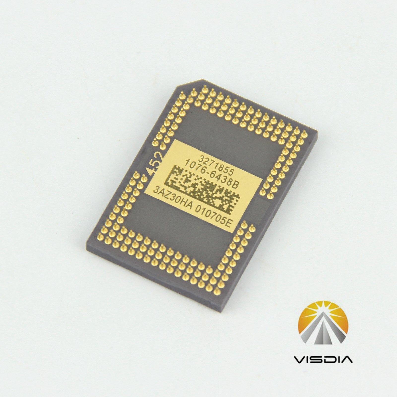Newest Generation DLP Projector DMD Chip 1076-6438B 1076-6439B 1076-643AB Replacement for 1076-6038B 1076-6039B 1076-6138B 1076-6139B 1076-6339B
